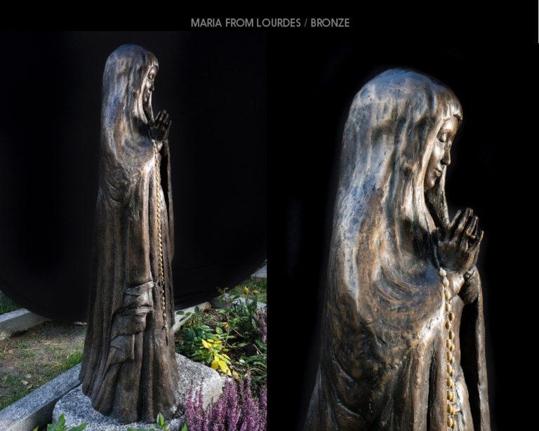 Maria from Lourdes / BRONZE