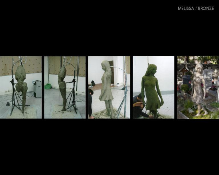 Progress of Melissa / BRONZE + CLAU